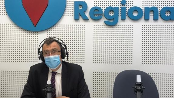 José Ballesta, alcalde de Murcia