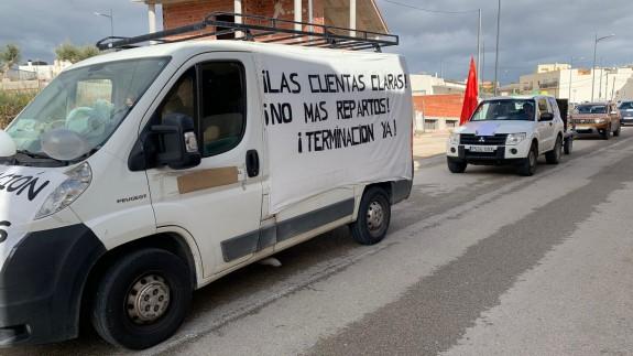 Protesta en La Algaida