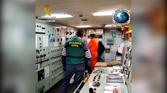Operación conjunta entre Guardia Civil e Interpol.