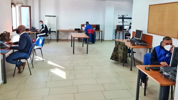 TARDE ABIERTA T02C047 Los monitores deportivos de Caravaca empiezan a realizar tareas de rastreadores (18/11/2020)