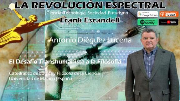 Antonio Diéguez en La Revolución Espectral
