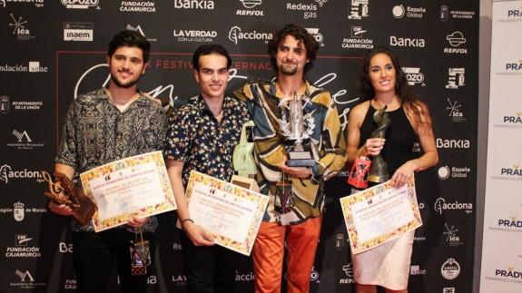 Ganadores del Cante de las Minas en la presente edición.