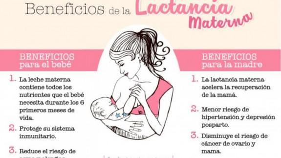 Cartel de una de las campañas a favor de la lactancia
