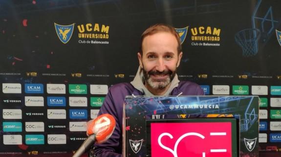 """Sito Alonso: """"Competir nos da la vida aunque el San Pablo Burgos es uno de los mejores equipos"""""""