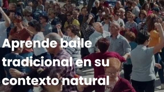 EL MIRADOR. Aprender on line a bailar la jota