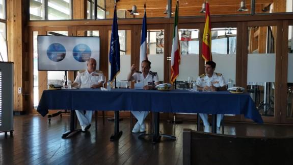 Las agrupaciones permanentes de la OTAN se han dado el relevo enCartagena. ORM