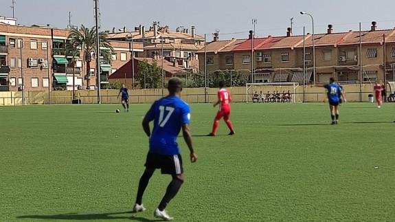 Partido sin goles entre El Palmar y Huércalovera