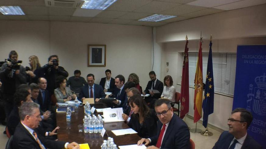 Reunión hoy de la comisión de seguimiento de las obras del AVE