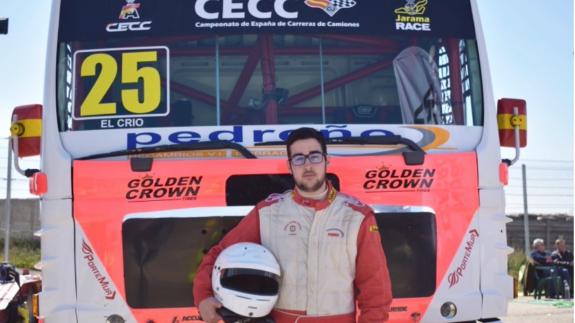 Pedro Marco, campeón de España de Carreras de Camiones