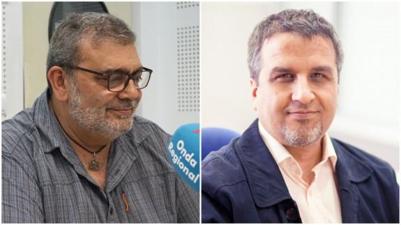 José Ramón Salcedo y Javier Júdez