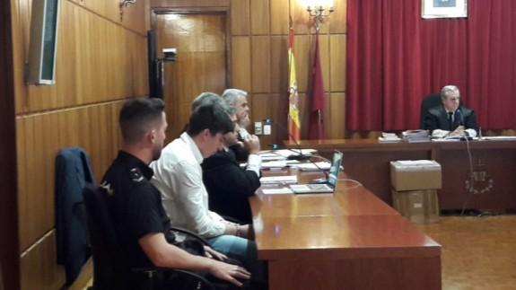 El acusado, durante el juicio que se celebró la semana pasada en la Audiencia Provincial.