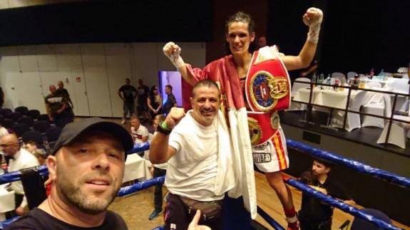 La lumbrerense Mari Carmen Romero, Campeona de Europa de la Federación Internacional de Boxeo