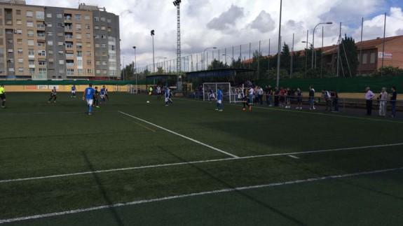 El Mar Menor gana 0-1 ante el Cartagena B