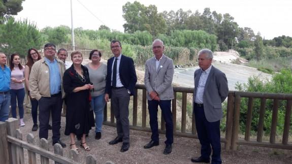 Ballesta visita museo del río
