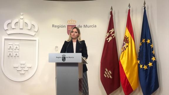 Martínez Vidal en rueda de prensa