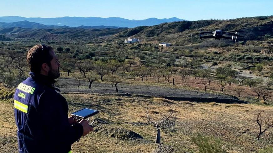 Dispositivo de búsqueda del vecino de Lorca