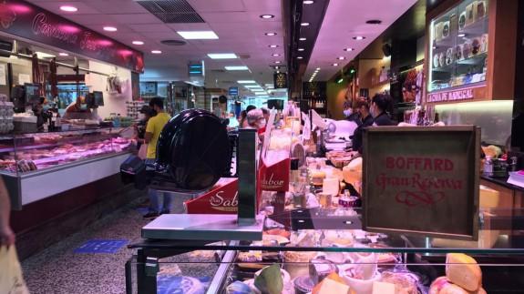 Mercado de abastos Saavedra Fajardo. Fuente: CJA