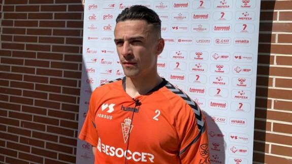Josué Dorrio, jugador del Real Murcia