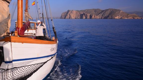 Parque regional de Calnegre y Cope desde un barco