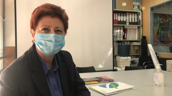 Rosa Cano, directora de Columbares