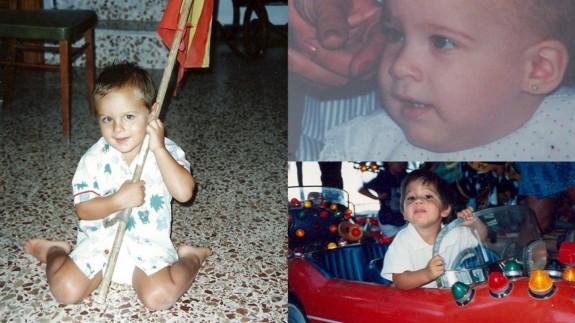 Víctor Martínez, María del Rosario López y Joaquín Cruces se suman, con fotos de su infancia, a la alegría de todos los niños
