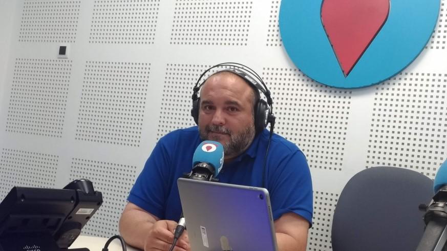 Manolo Breis, en una entrevista anterior