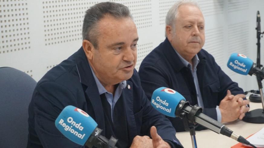 Santiago Navarro y Antonio Jiménez en una imagen de archivo