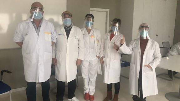 Personal del Centro de Salud Murcia-Sur