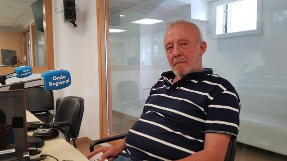 Salvador Inglés, presidente del Centro Excursionista de Cartagena