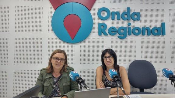 Teresa Allepuz e Isabel Serna en Onda Regional