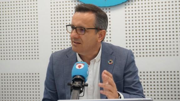 """Diego Conesa en la entrevista en el programa """"La contraportada"""""""