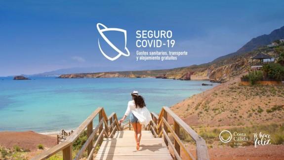 Seguro covid para los turistas de la Región de Murcia. CARM