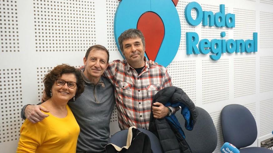 Fini Olina, Gonzalo Séiquer y Jesús Galera