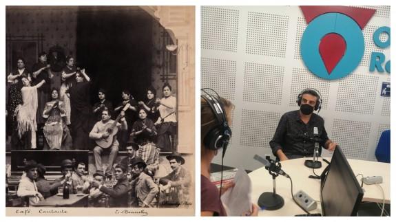 """Julián Pérez Páez, flamencólogo y cantante en el programa """"El Rompeolas"""""""