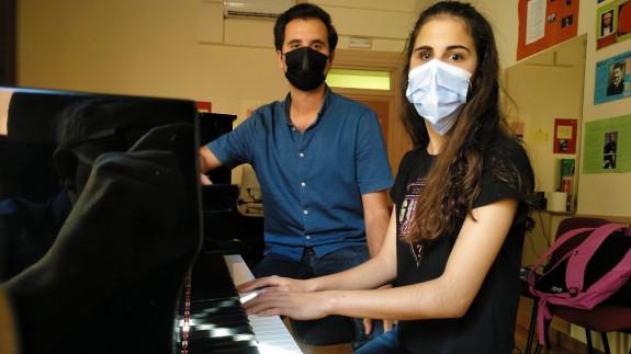 Laura Diepstraten con José Antonio Candel