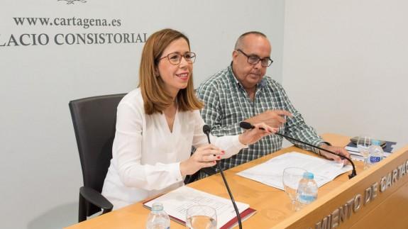Castejón, ayer en rueda de prensa