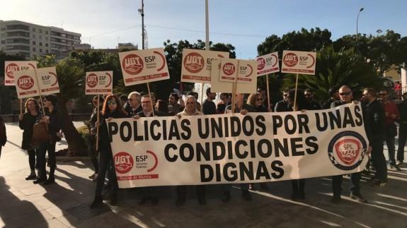 Concentración de Policías Locales