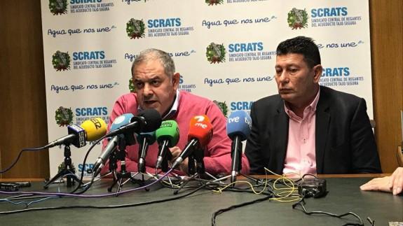 Lucas Jiménez y Manuel Martínez en rueda de prensa