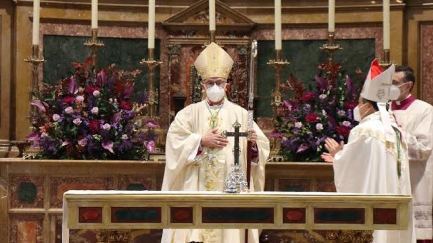 Fernando Valera en la catedral de Zamora
