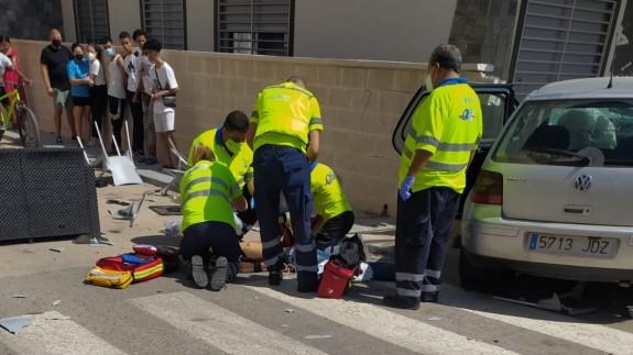 Dos muertos y dos heridos en un atropello múltiple en la terraza de un bar de Roldán