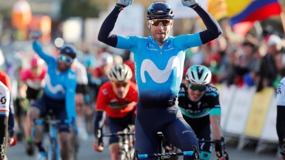 Valverde, tras su victoria en la segunda etapa de la Volta a Cataluña