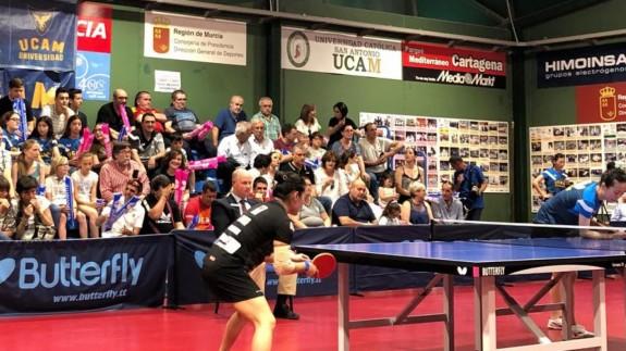 El UCAM Cartagena, campeón de la ETTU Cup de tenis de mesa femenino