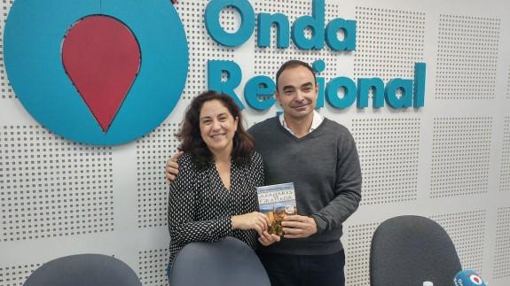 Jordi Verdaguer con Marta Ferrero en Onda Regional