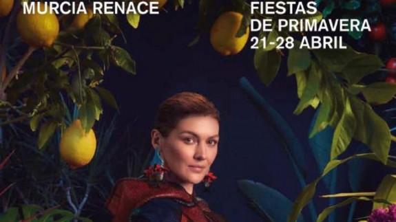 Cartel de las Fiestas de Primavera 2019 en Murcia
