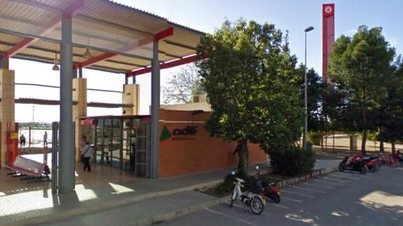 Fallece el hombre que fue atropellado por un tren en la estación de Alhama de Murcia