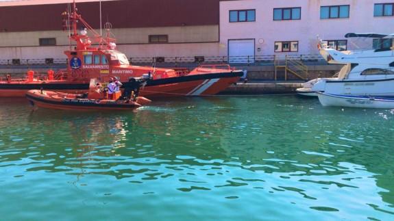 Rescatan a 51 inmigrantes argelinos en seis pateras frente a la costa de Cartagena