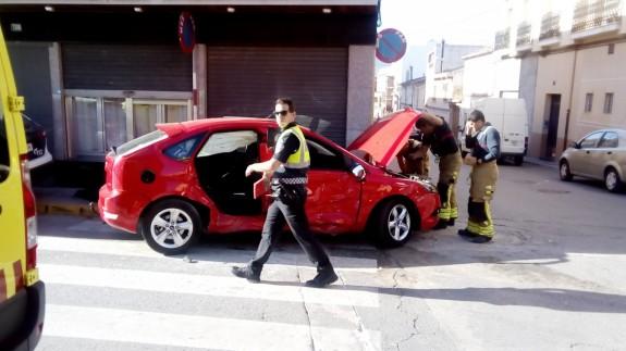Accidente de tráfico en Jumilla