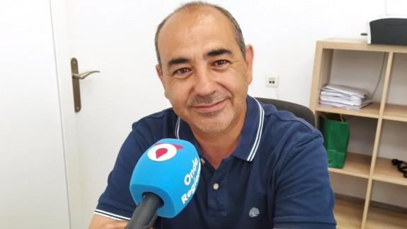 Jesús Verdú, concejal de Cultura y Medio Ambiente del Ayuntamiento de Yecla
