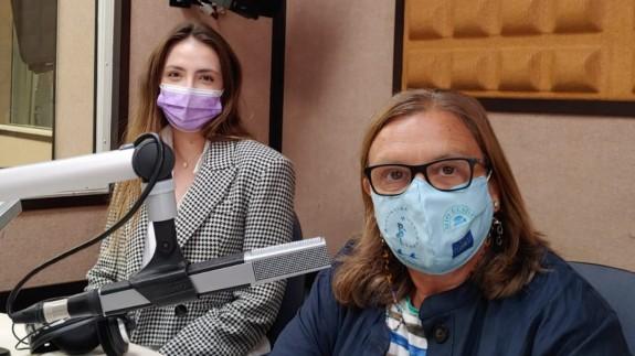 Laura Ruíz y Teresa Allepuz en ORM