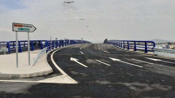 Inaugurada la Avenida de Levante que conecta Beniaján con la Autovía del Reguerón